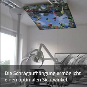 Aufhängung Deckenbilder
